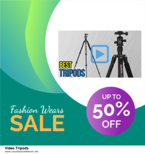 5 Best Video Tripods Black Friday 2020 and Cyber Monday Deals & Sales