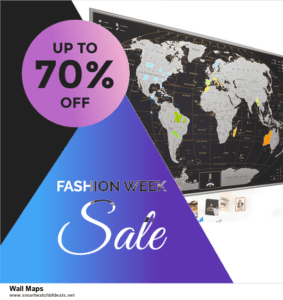 Top 11 Black Friday and Cyber Monday Wall Maps 2020 Deals Massive Discount