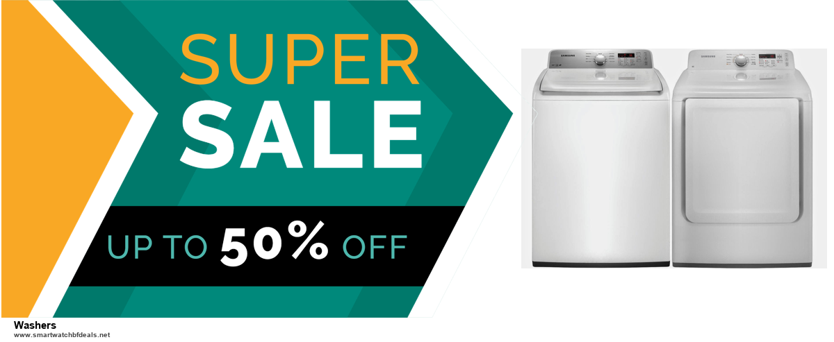 List of 6 Washers Black Friday 2020 and Cyber MondayDeals [Extra 50% Discount]