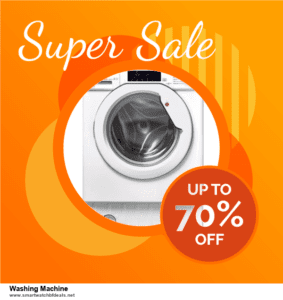 List of 6 Washing Machine Black Friday 2020 and Cyber MondayDeals [Extra 50% Discount]