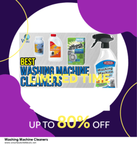 10 Best Washing Machine Cleaners Black Friday 2020 and Cyber Monday Deals Discount Coupons