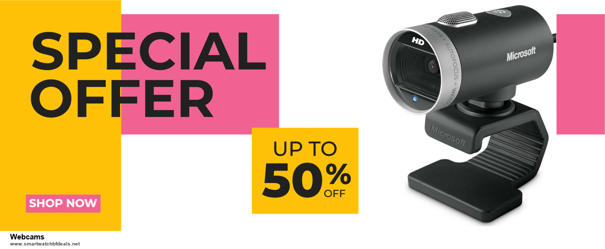 9 Best Black Friday and Cyber Monday Webcams Deals 2020 [Up to 40% OFF]
