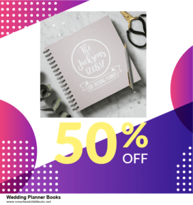 List of 10 Best Black Friday and Cyber Monday Wedding Planner Books Deals 2020