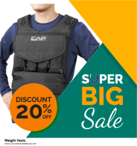 9 Best Black Friday and Cyber Monday Weight Vests Deals 2020 [Up to 40% OFF]