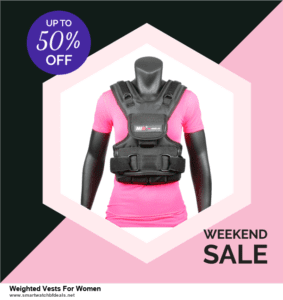 Top 5 Black Friday and Cyber Monday Weighted Vests For Women Deals 2020 Buy Now