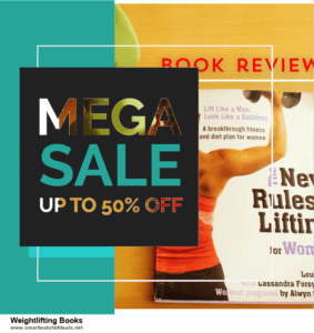 9 Best Weightlifting Books Black Friday 2020 and Cyber Monday Deals Sales