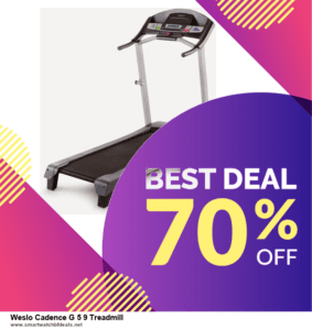 Grab 10 Best Black Friday and Cyber Monday Weslo Cadence G 5 9 Treadmill Deals & Sales