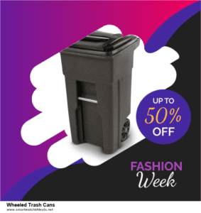 List of 6 Wheeled Trash Cans Black Friday 2020 and Cyber MondayDeals [Extra 50% Discount]
