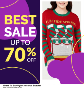 List of 10 Best Black Friday and Cyber Monday Where To Buy Ugly Christmas Sweater Deals 2020