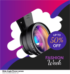 6 Best Wide Angle Phone Lenses Black Friday 2021 and Cyber Monday Deals   Huge Discount