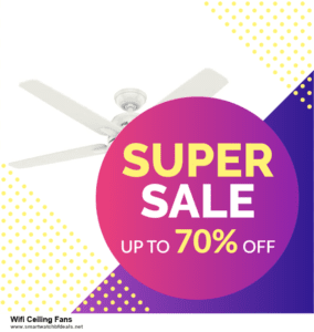10 Best Black Friday 2020 and Cyber Monday  Wifi Ceiling Fans Deals | 40% OFF