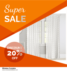 List of 10 Best Black Friday and Cyber Monday Window Curtains Deals 2020