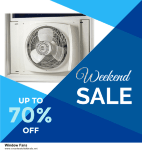 9 Best Black Friday and Cyber Monday Window Fans Deals 2020 [Up to 40% OFF]