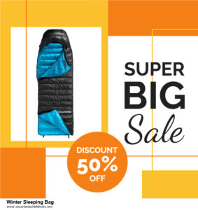 List of 10 Best Black Friday and Cyber Monday Winter Sleeping Bag Deals 2020