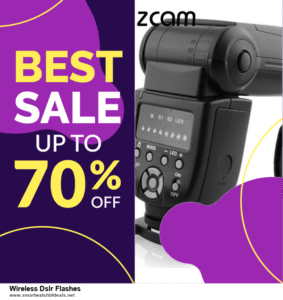 Top 5 Black Friday and Cyber Monday Wireless Dslr Flashes Deals 2020 Buy Now
