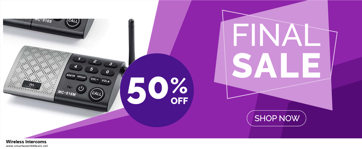 Top 5 Black Friday and Cyber Monday Wireless Intercoms Deals 2020 Buy Now