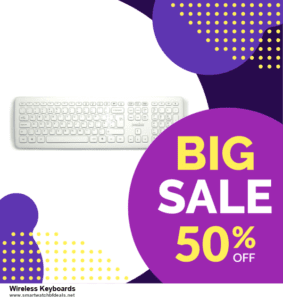 13 Best Black Friday and Cyber Monday 2021 Wireless Keyboards Deals [Up to 50% OFF]