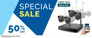 Top 10 Wireless Security Camera Systems Black Friday 2020 and Cyber Monday Deals