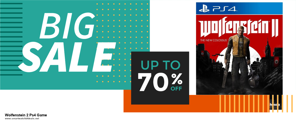Top 10 Wolfenstein 2 Ps4 Game Black Friday 2020 and Cyber Monday Deals