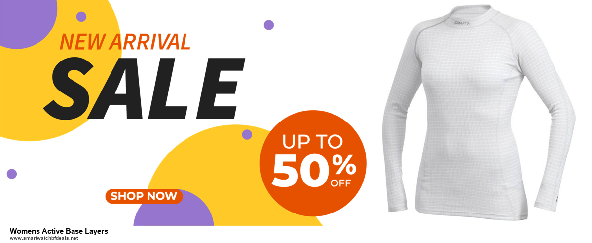 List of 10 Best Black Friday and Cyber Monday Womens Active Base Layers Deals 2020