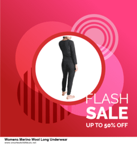 10 Best Womens Merino Wool Long Underwear Black Friday 2021 and Cyber Monday Deals Discount Coupons