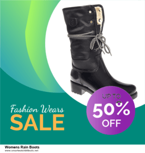 7 Best Womens Rain Boots Black Friday 2020 and Cyber Monday Deals [Up to 30% Discount]