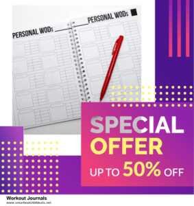 Top 11 Black Friday and Cyber Monday Workout Journals 2020 Deals Massive Discount