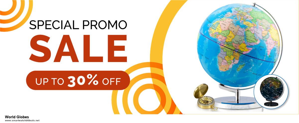 10 Best Black Friday 2020 and Cyber Monday World Globes Deals | 40% OFF