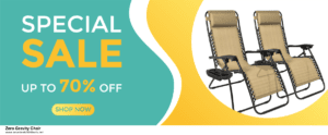 9 Best Black Friday and Cyber Monday Zero Gravity Chair Deals 2020 [Up to 40% OFF]