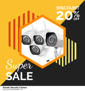 List of 10 Best Black Friday and Cyber Monday Zmodo Security Camera Deals 2020